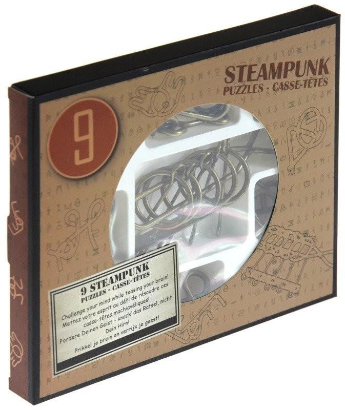 Eureka 3D 3D, gra Łamigłówki metalowe Steampunk