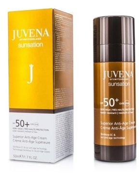 Juvena Przeciwstarzeniowy krem ochronny do ciała - Juvena Sunsation Superior Anti-Age Cream SPF 50+ Przeciwstarzeniowy krem ochronny do ciała - Juvena Sunsation Superior Anti-Age Cream SPF 50+