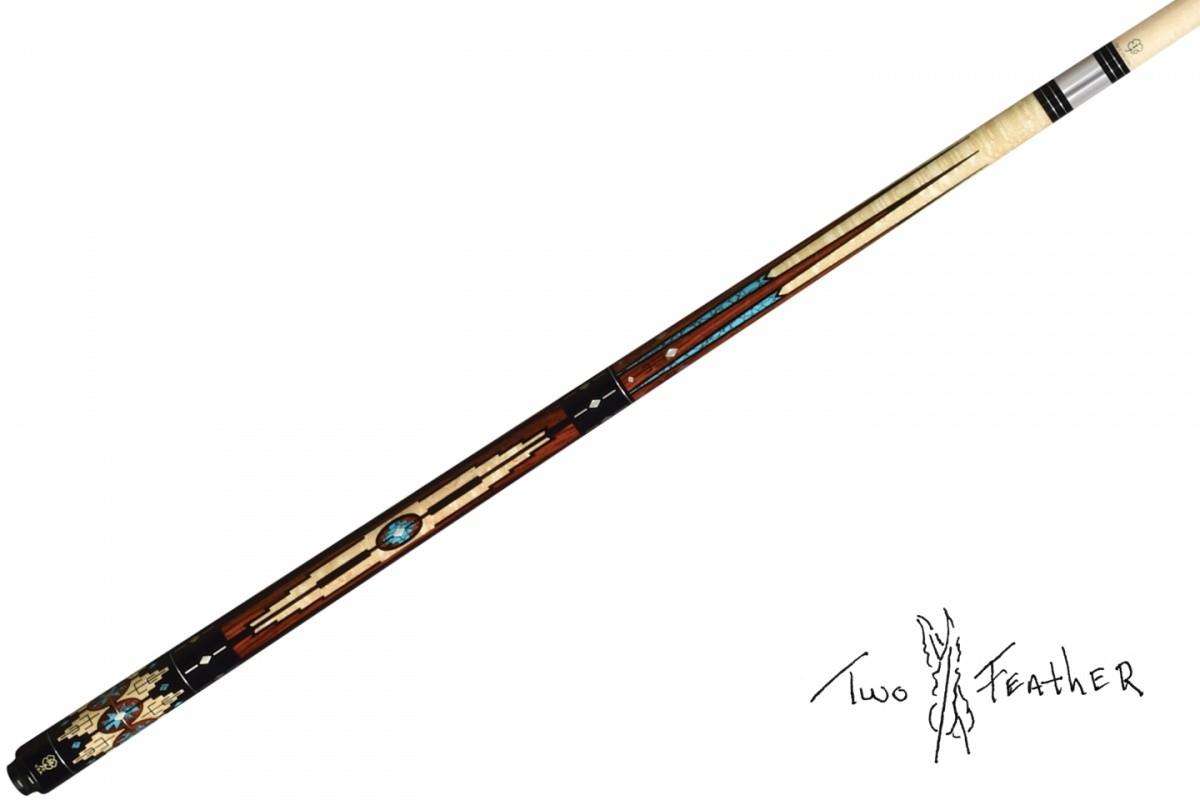 McDermott Kij bilardowy II cz TF-M1B - Two Feather Masterpiece
