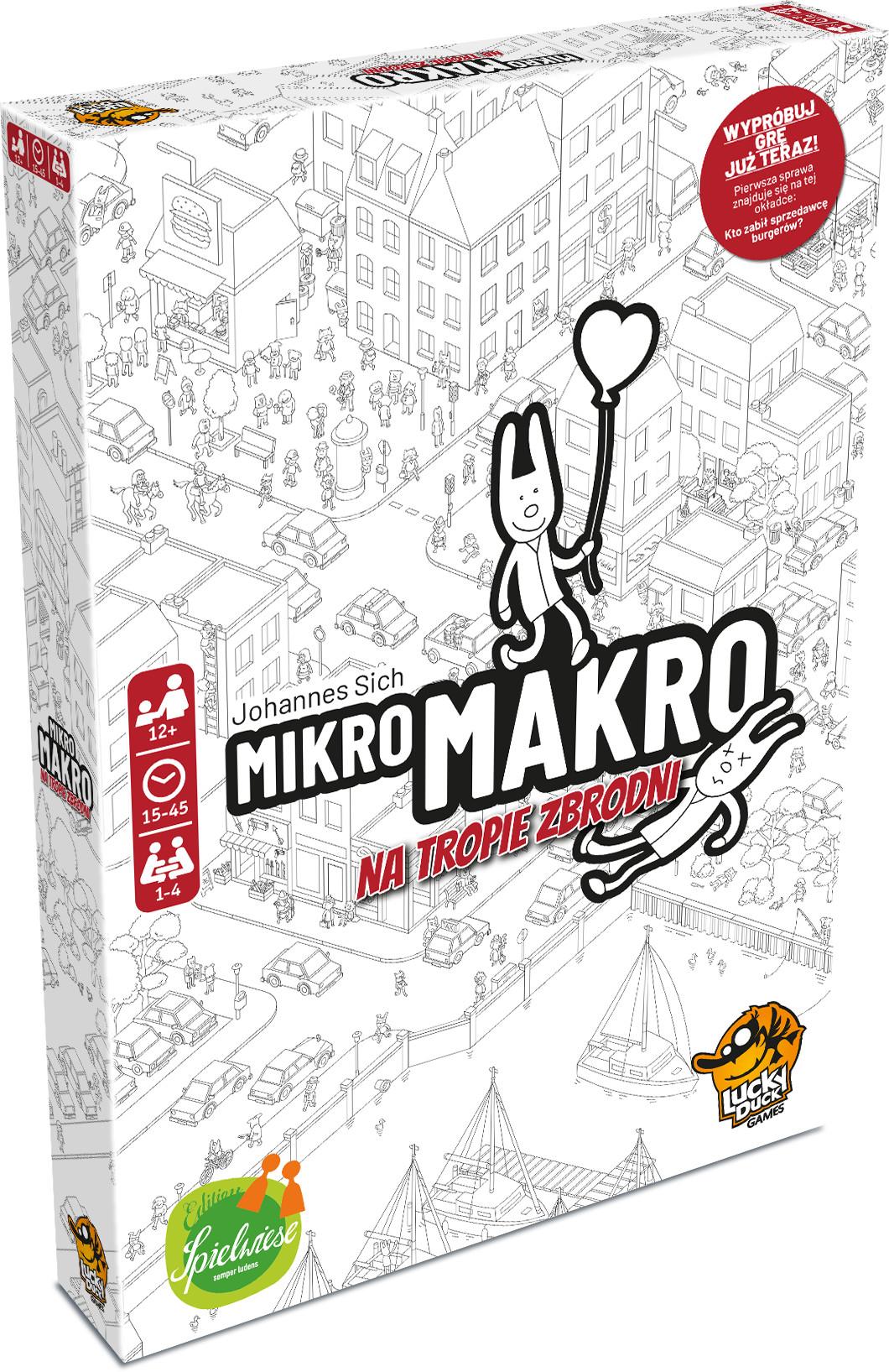 Lucky Duck Games MikroMakro: Na tropie zbrodni