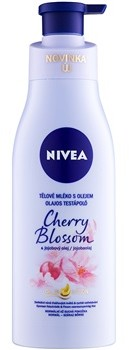 Nivea Cherry Blossom & Jojoba Oil mleczko do ciała z olejem 200 ml