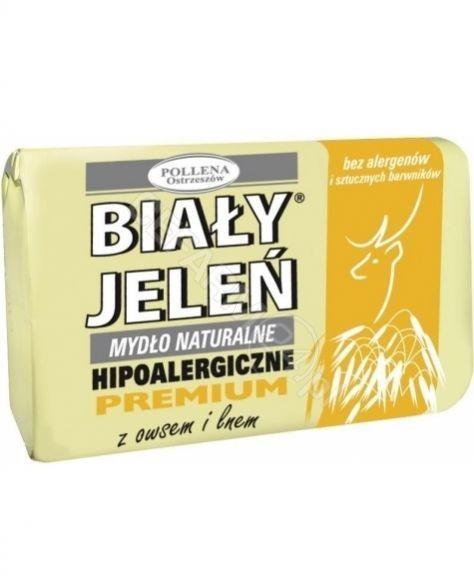 Pollena Premium 100g - mydło z owsem i lnem