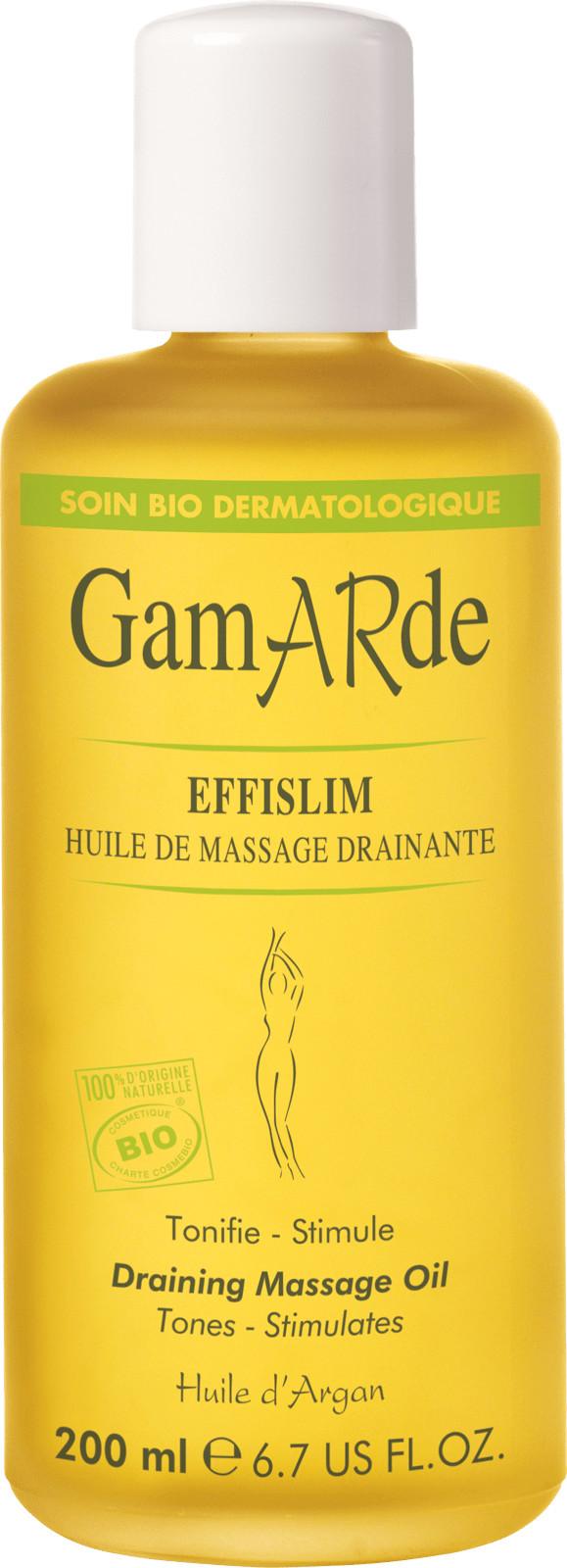 Gamarde Gamarde Wyszczuplająco  drenujący olejek do masażu ciała  200 ml