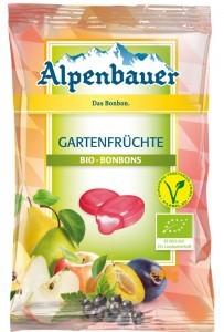 Alpenbauer Cukierki z nadzieniem o smaku owocowym VEGAN BIO 90 g - ALPENBAUER B9F6-14211
