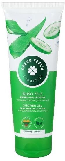 Green Feel'S Green FeelS Green FeelS Żel pod prysznic z ekstraktem z ogórka i aloesu 250ml