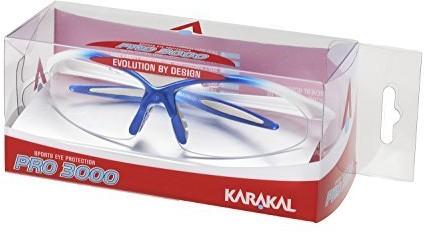 Karakal Pro 3000 rakieta do squasha okulary ochronne, Dorośli KEGP3