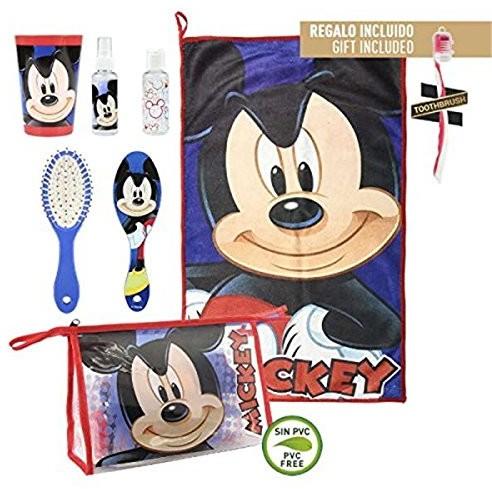 Cerdá cerdá Mickey kosmetyczny walizka, 23cm, niebieski (azul) 2500000844