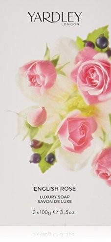Yardley yardley London English Rose Luxury Soap 3X 100G Y6320022-6
