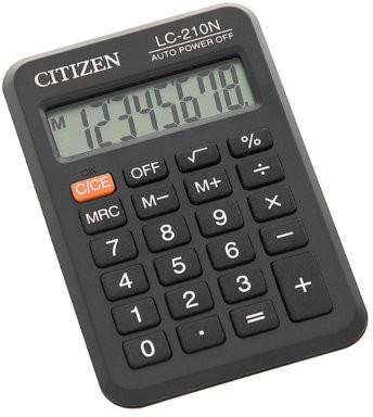 CITIZEN KALKULATOR KIESZONKOWY LC-210N zakupy dla domu i biura LC-210N