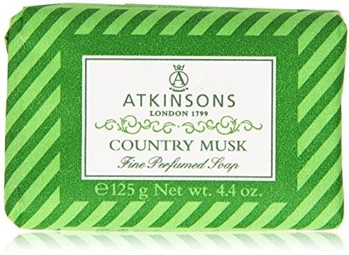 Atkinsons atkinsons mydła Country Musk, 125 G 8000600000808