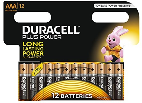 Duracell Plus Power AAA bateria 12er Pack LR03/MN2400