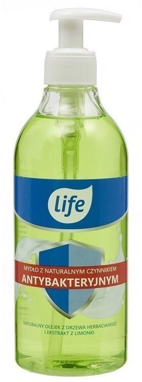Tea Tree Life Life - mydło z czynnikiem antybakteryjnym Oil & Lime 500ml