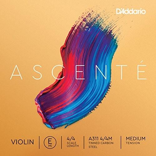 D'Addario ascenté struny skrzypce, średnie napięcie A311 4/4M