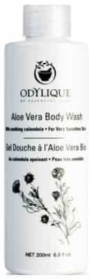 Essential Care Odylique Odylique by organiczny nawilżający kremowy żel do mycia ciała z aloesem, oliwą i nagietkiem bezzapachowy 200ml