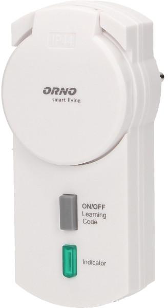 Orno Gniazdo zewnętrzne OR-SH-1713 sterowane bezprzewodowo Smart Living OR-SH-1713