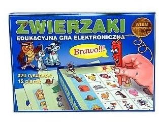 Jawa Zwierzaki Elektroniczna GRA-16