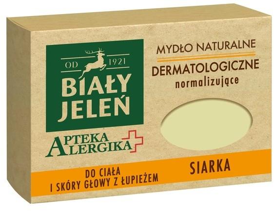 Pollena Apteka Alergika Hipoalergiczne mydło z siarką