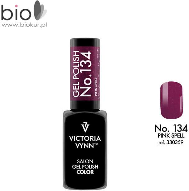 Victoria Vynn Lakier hybrydowy kolor Pink Spell nr 134 8 ml 330359