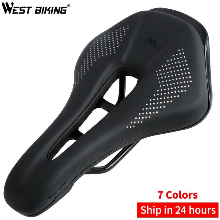 Selle Royal WEST BIKING siodło MTB siodełko do roweru szosowego Mountain Bike Racing siodło PU