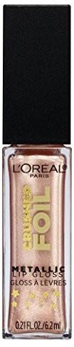 PARIS L'Oréal błyszczyk do ust Infaillible Crushed Foil 15 luster, 6.2 G A95813