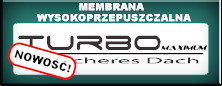 Membrana dachowa z klejem Turbo Maximum