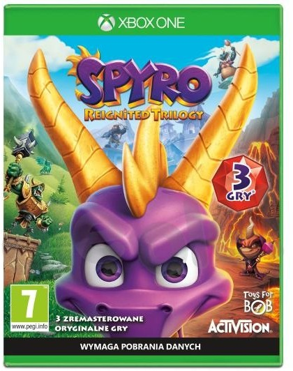 Spyro Reignited Trilogy (GRA XBOX ONE)
