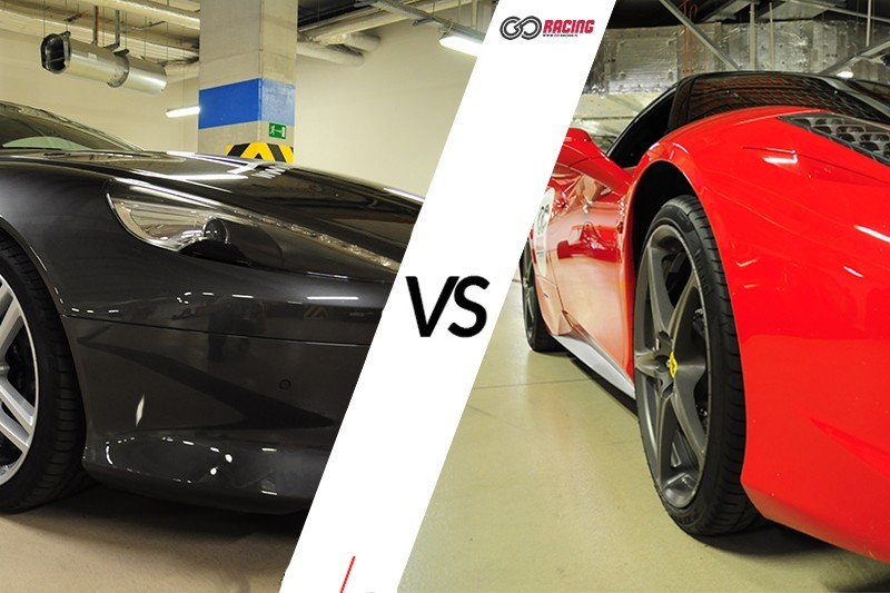 go racing Jazda Ferrari 458 Italia vs Aston Martin DB9 13' : Ilość okrążeń - 4, Tor - Tor Olsztyn, Usiądziesz jako - Kierowca