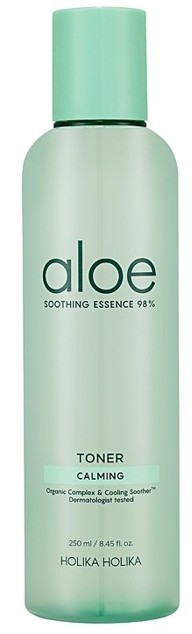 Holika Holika Aloe Essential 98% Soothing Toner Nawilżający toner do twarzy 250ml 37710-uniw
