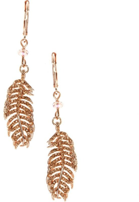 Lonna And Lilly Feather Earrings 60451919-9DH