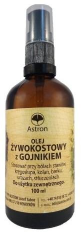 Astron Olej żywokostowy z gojnikiem 100Mlx10szt