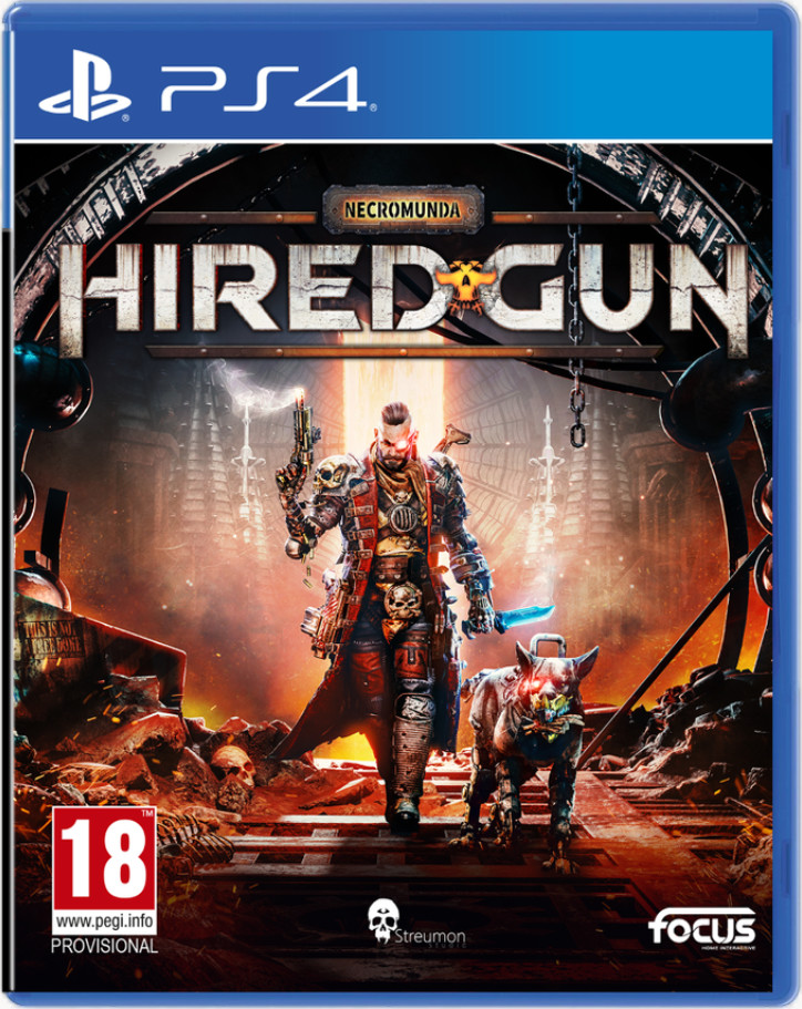 Necromunda Hired Gun (GRA PS4)