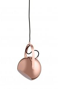 Frandsen KINGHOME INSP. lampa wisząca BALL L , miedziana BALL
