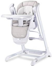 Caretero Krzesełko i Huśtawka 2w1 Indigo Light Grey