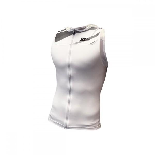 ZEROD koszulka triathlonowa START TRISINGLET biała