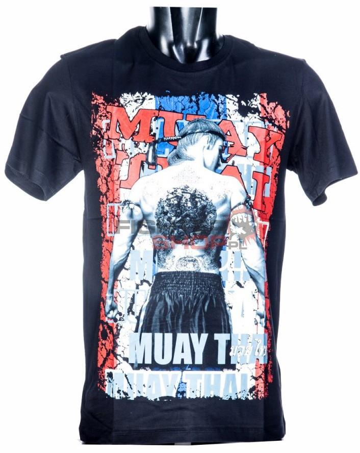 Born to be Muay Thai T-shirt męski SYANT Born to be Muay Thai