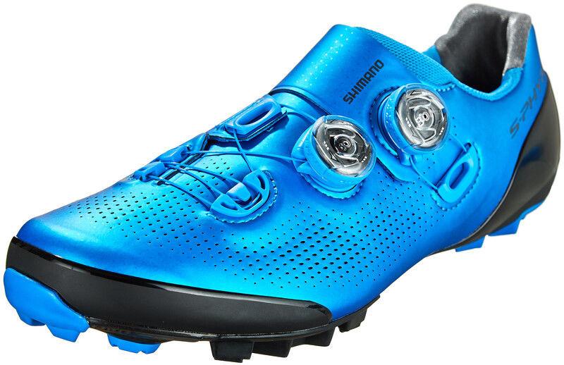 Shimano SH-XC901 Buty Mężczyźni, blue EU 42 2020 Buty MTB zatrzaskowe ESHXC901MCB01S42000