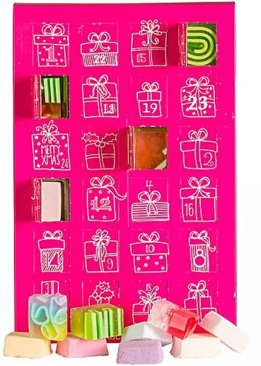 Bomb Cosmetics Kalendarz Adwentowy Różowy 46947-uniw