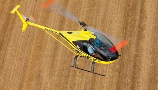 Lot zapoznawczy helikopterem Sosnowiec 20 minut TAAK_LZHS2