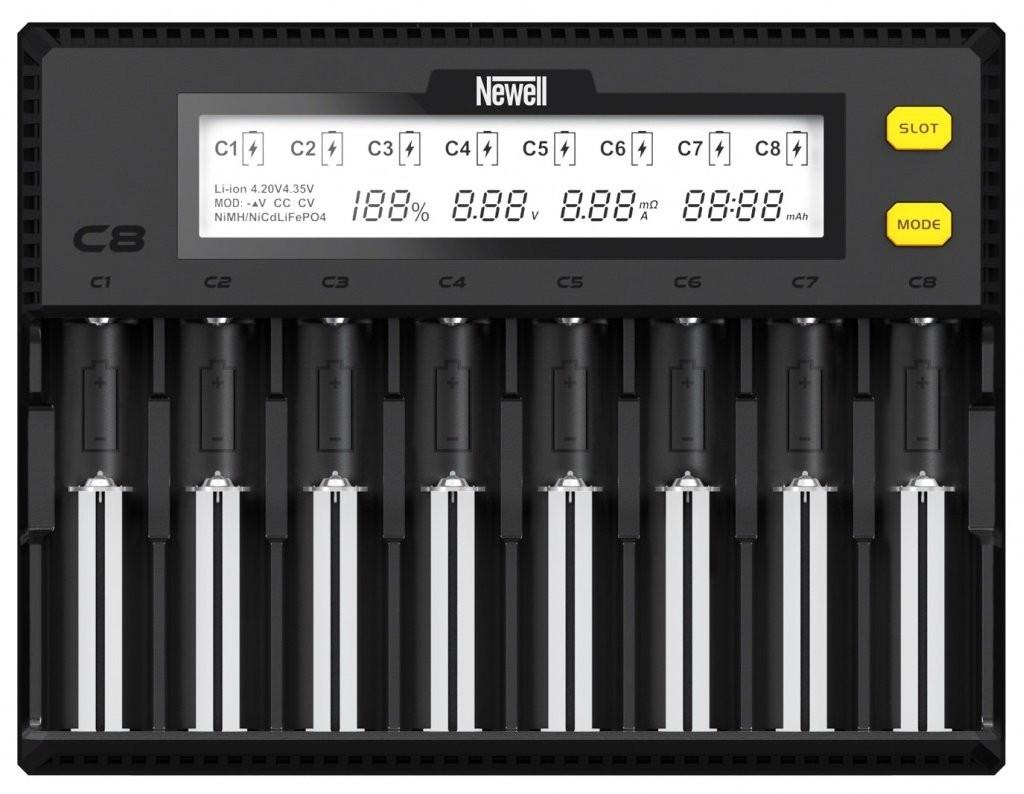 Newell Ładowarka Smart C8 do akumulatorów NiMH/Li-Ion