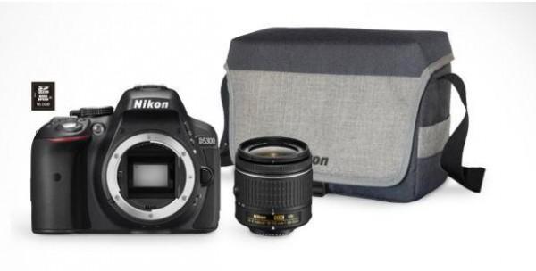 Opinie o Nikon D5300 + AF-P 18-55VR + karta 8GB + torba