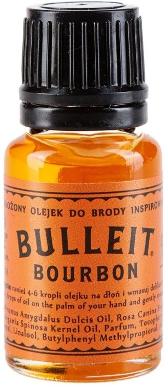 Pan Drwal olejek do brody Bulleit Bourbon 10 ml BULLEIT BOURBON