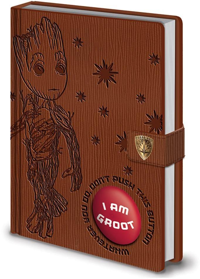 - Strażnicy Galaktyki 2 audio notatnik Groot