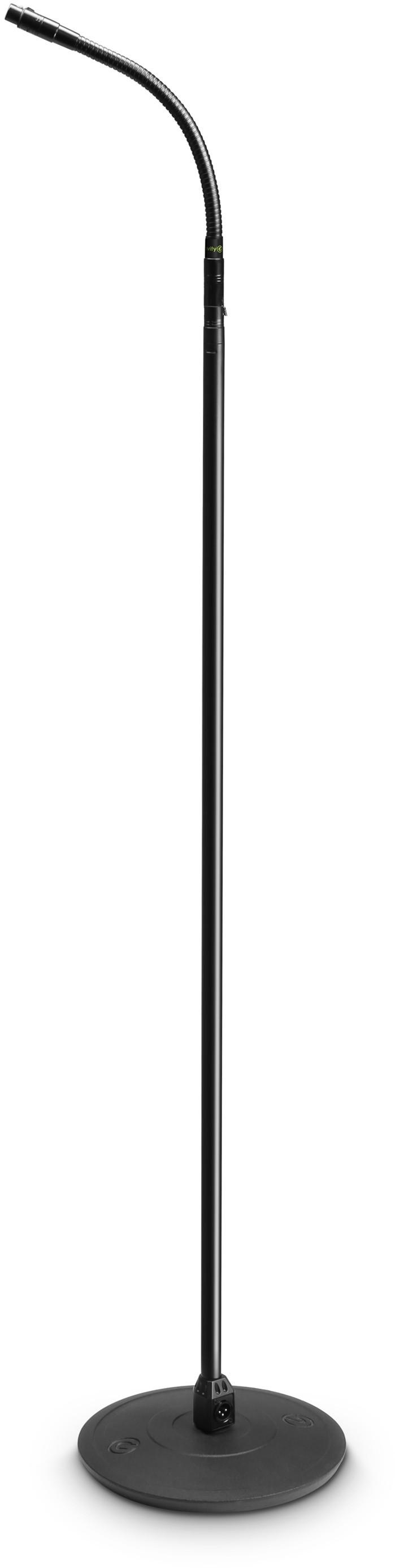 Gravity MS 23 XLR B - statyw mikrofonowy z gęsią szyją