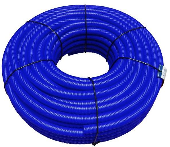 Rura peszel 18/22 mm niebieski 50 mb