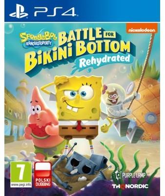 Spongebob SquarePants Battle for Bikini Bottom (GRA PS4