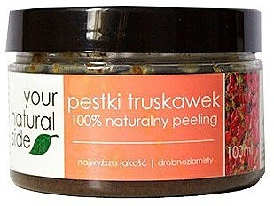 Your Natural Side 100% naturalny peeling z pestkami truskawek - Your Natural Side Seeds Scrubs 100% naturalny peeling z pestkami truskawek - Your Natural Side Seeds Scrubs