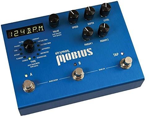 Strymon Mobius Modulacja Machine efektowne urządzenie gitarowe Mobius