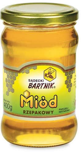 BARTNIK Miód rzepakowy - 400 g 03762