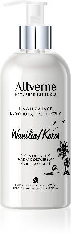 Allverne Natures Essences Mydło do rąk i pod prysznic Wanilia-Kokos 300ml