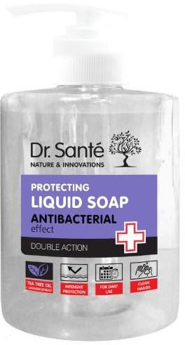 Elfa Pharm Dr Sante ochronne mydło antybakteryjne w płynie z drzewem herbacianym i lawendą 500 ml 7081368